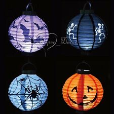 10PCS Festival Party Halloween paper lantern Props Outdoor Lamp Light Xmas Decor