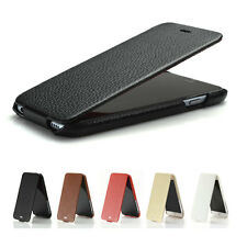 HOCO Duke Ultraslim Real Genuine Leather Flip Case Cover for iPhone 6 - 4.7