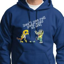 Don't Roll Your Eyes At Me! FUNNY Zombie Halloween Monster Hoodie Sweatshirt