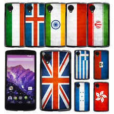 Country National Flag Hard Phone Case Cover for LG GOOGLE NEXUS 5