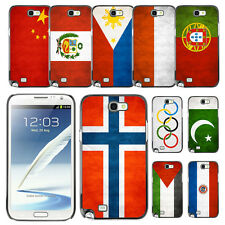 Country National Flag Hard Phone Case Cover for Samsung Galaxy Note II 2 N7100