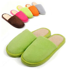 Brand New Cute Cotton Women Lady Mens Anti slip Slippers Indoor House Soft Warm