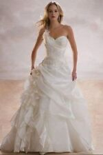 New white wedding dress bridal gown stock size 6/8/10/12/14/16