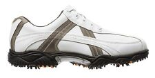 FootJoy Contour Golf Shoes CLOSEOUT 54127 White/Grey Mens New