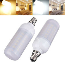 6W LED E12 E14 E26 E27 B22 G9 GU10 Warm White Lights 110 220V Frosted Cover Bulb