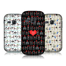 HEAD CASE STICKMAN PATTERNS HARD BACK CASE COVER FOR SAMSUNG GALAXY YOUNG S6310