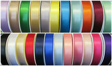 10mm 15mm 25mm BERISFORDS DOUBLE SIDED SATIN RIBBON 30 COLOURS BERESFORDS