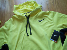 NWT Mens Nike Therma-Fit Pullover Hoodie Sweatshirt Yellow