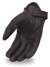 First Classics Men's Light Lined Cruising Leather Motorcycle Pair Glove