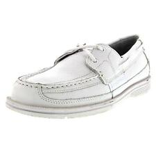Rockport Wave Crasher Mens Leather Boat Shoes