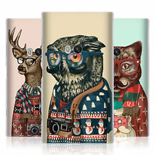 HEAD CASE HIPSTER ANIMALS IN SWEATERS GEL BACK CASE COVER FOR NOKIA LUMIA 920