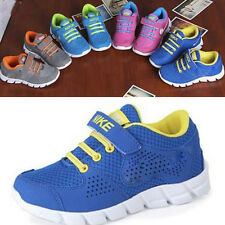 New Child Boys Girls Breathable Fashion Sneakers Running Casual Sport Shoes TS40