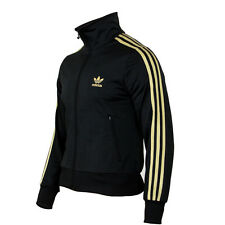 ADIDAS FIREBIRD TT WOMEN DAMEN JACKE SCHWARZ GOLD P07299 BLACK METALLIC GOLD