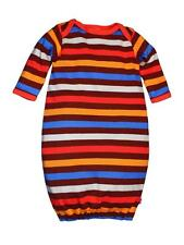 Boys Infant Colorful Striped Newborn Baby Night Gown Pajamas by Zutano