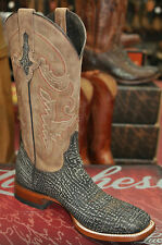 Lucchese M4333 Chocolate Sanded Shark Boots