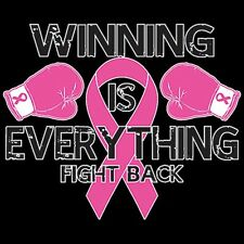 TACKLE BREAST CANCER! Awareness Item PINK RIBBON Find a Cure T-Shirt