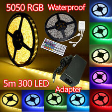 Waterproof 5M 10M 15M 5050 LED Strip Light Cabinet Display Lights Multi-color