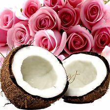 Coconut Roses Fragrance Oil Candle/Soap Making, Oil Burners, Diffusers