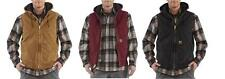 New Carhartt Sandstone Hooded Active Vest Jacket Men M/L/XL/2XL Tall  Insulated