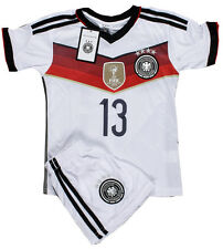 Germany #13 MULLER 2015 Home Kids Soccer Jersey & Shorts All Youth Sizes