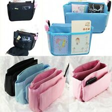 Bag In Bag Cosmetic Makeup Pouch Organizer Handbag Insert Purse Multi-function