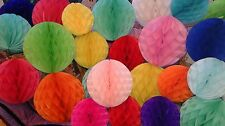 1 paper honeycombs ball paper pompoms poms  , wedding , party , baby shower