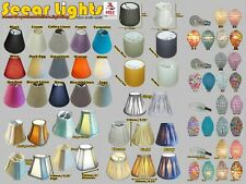 * CANDLE LAMPSHADE CLIP ON LIGHTBULB CHANDELIER PENDANT WALL LIGHT SHADE CLASSIC