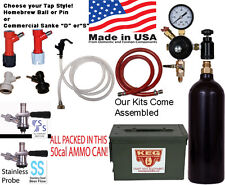 Keg Tap Kit in a can Portable draft dispense kit choose homebrew or commercial