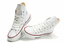 Converse All Star HI Top Canvas Pumps High Trainers Shoes Mens Womens UK Size WT