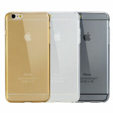 """For Apple iPhone 6 4.7"""" 6 Plus 5.5 TPU Rubber Ultra Thin Bumper Case Frame Cover"""