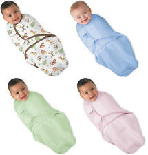 Summer Infant SWADDLEME COTTON Baby/Newborn Swaddling/Wrapping Blanket - New