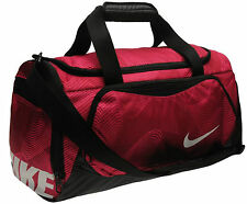 Nike Bag Designer Red Sports Holdall Weekends Away Travel Duffle Gym Holdall