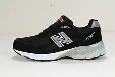 "NEW MEN'S NEW BALANCE RUNNING COURSE BLACK ""MADE IN USA"" M990BK3 D MEDIUM WIDTH"