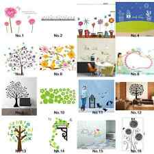 Room Home Decor Decal Removable Wall Stickers DIY Art Wallpaper Pink Flowers