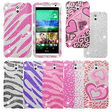 For HTC DESIRE 610 Cover Bling Rhinestone Diamond Cell Phone Accessory