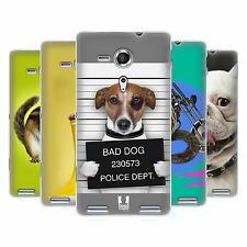 HEAD CASE FUNNY ANIMALS GEL BACK CASE COVER FOR SONY XPERIA SP C5303