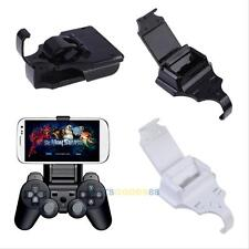 Universal Smart Game Phone Clip Mount Holder For Ps3 Pad Controller IOS Android