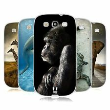 HEAD CASE WILDLIFE GEL BACK CASE COVER FOR SAMSUNG GALAXY S3 III I9300
