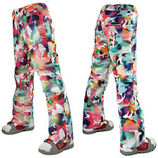 Thick women ski pants outdoor snowboard pants women winter pants size XS S M L