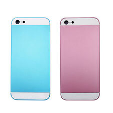 Metal Battery Housing Back Door Cover+Mid Frame Fix Part For Apple iPhone 5
