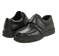 Hush Puppies Men's Gil Black Leather Shoes Sizes 8.5 and 13 Med Available (800)