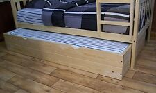 TUNDLE BED INCLUDING TWIN OR FULL MATTRESS *5 Stain Options*  AMISH MADE in USA