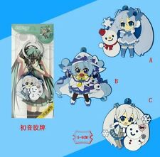 VOCALOID2 Anime Snow Miku Rubber Pendant Key Chain (1 PCS Only) #35478
