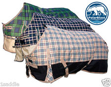 1200 DENIER WATERPROOF TURNOUT WINTER HORSE BLANKET PERFECT FIT NEW