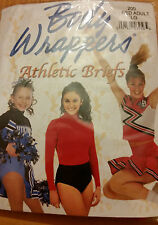 Body Wrappers  RED Athletic Briefs #100Child&#200 Adult Cheer, Dance, Gymnastics