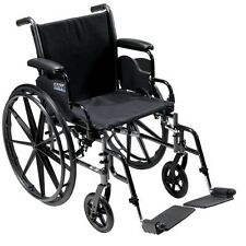 Drive Medical- Cruiser III Wheelchair, with 2 Leg Rest Options