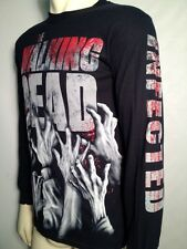 AUTHENTIC THE WALKING DEAD INFECTED HANDS LONG SLEEVE ZOMBIE WALKER SHIRT S-3XL