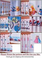 HQ Beautiful Disney Voile Net Curtains CarsToy Story Winnie the Pooh Spiderman