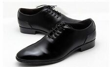Men Business Dress Oxford Leather Lace Up Formal  Shoes Newesrt