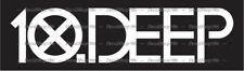 10.Deep Clothing - Cars/SUV's/Trucks Vinyl Die-Cut Peel N' Stick Decal/Sticker